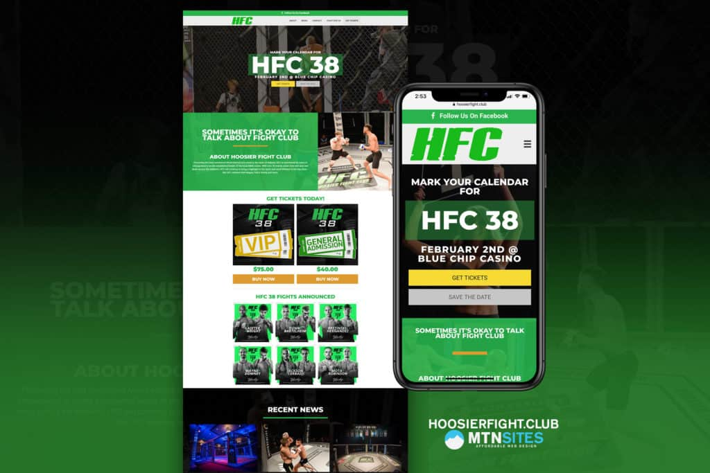Introducing the Hoosier Fight Club Mtn Site 6